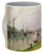 Island Of The Cross At Rouen Coffee Mug