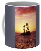 Island Silhouette Coffee Mug