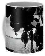 Island - View -  Black And White Coffee Mug