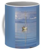 Isle Of Colonsay, Scotland Sailboat On Coffee Mug