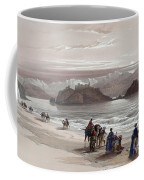 Isle Of Graia Gulf Of Akabah Arabia Petraea Feby 27th 1839 Coffee Mug