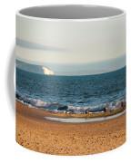 Isle Of Wight As Seen From Bournemouth Beach Coffee Mug