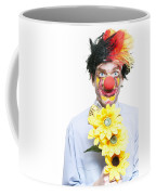 Isolated Clown In A Funny Summer Romance Coffee Mug