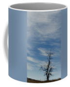Isolated In The Blue Coffee Mug
