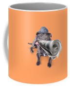 Isolated Newspaper Dog Carrying Latest News Coffee Mug