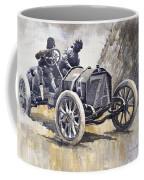 Isotta Fraschini 50hp 1908 Targa Florio  Coffee Mug