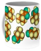 Isovaleric Acid Molecular Models Coffee Mug