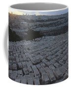 Israel, Jerusalem Mount Of Olives Coffee Mug