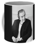 Israel Prime Minister Golda Meir 1973 Coffee Mug