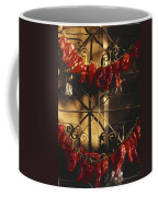 Israel Red Peppers Drying In The Sun Coffee Mug