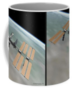 Iss - Gently Cross Your Eyes And Focus On The Middle Image Coffee Mug