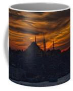 Istanbul Sunset - A Call To Prayer Coffee Mug by David Smith