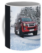 Isuzu In The Snow Coffee Mug