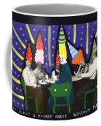 It Is Not A Proper Party Without Hats Coffee Mug