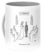 It Starts Coffee Mug