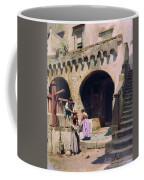 Italian Courtyard Henryk Semiradsky Coffee Mug
