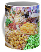 Italian Farmers Market Dried Fruits Coffee Mug