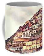 Italian Hillside Village Coffee Mug