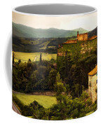 Italian Castle And Landscape Coffee Mug
