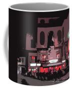 Italian Restaurant At Night Coffee Mug