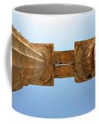 Italy, Sicily - Segesta Temple Detail Coffee Mug