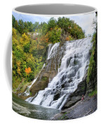 Ithaca Falls Coffee Mug by Christina Rollo