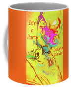 It's A Party Abstract Coffee Mug