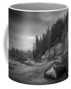 It's Over B/w Coffee Mug