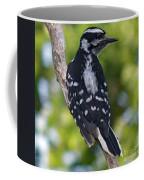 I've Got Your Back - Female Downy Woodpecker Coffee Mug