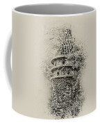 Ivy Covered Castle In The Woods Coffee Mug