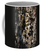 Ivy Leaves Grunge Tone Coffee Mug