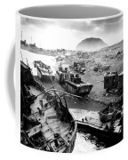 Iwo Jima Beach Coffee Mug by War Is Hell Store