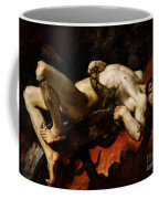 Ixion Thrown Into Hades Coffee Mug by Jules Elie Delaunay