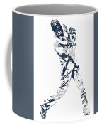 J D Martinez Detroit Tigers Pixel Art 3 Coffee Mug