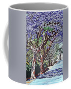 Jacaranda Road Coffee Mug