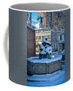 Jack Frost Visits For First Day Of Spring Coffee Mug