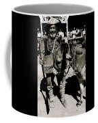 Jack Hendrickson With Pet Burro  Number 1 Helldorado Days Parade Tombstone Arizona 1980 Coffee Mug