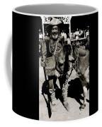 Jack Hendrickson With Pet Burro  Number 1 Helldorado Days Parade Tombstone Arizona 1980 Coffee Mug