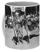 Jack Hendrickson With Pet Burro Number 3 Helldorado Days Parade Tombstone Arizona 1980 Coffee Mug
