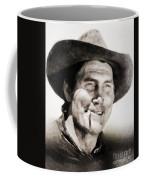 Jack Palance, Vintage Actor Coffee Mug