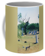 Jack Rabbit In Cementery Coffee Mug