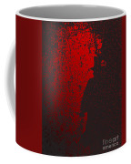 Jack The Ripper In Red Light Coffee Mug