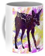 Jackal Children Watercolor Animal  Coffee Mug