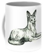 Jackal Sketch Coffee Mug