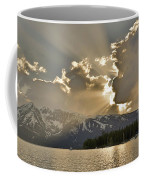 Jackson Lake Sunset View Coffee Mug