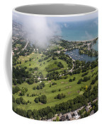 Jackson Park Golf Course In Chicago Aerial Photo Coffee Mug