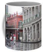 Jackson Square Rainy Day  Coffee Mug