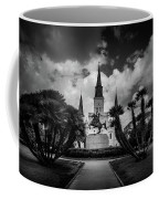 Jackson Square Sunrise In Black And White Coffee Mug
