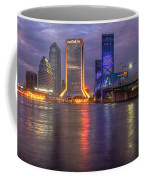 Jacksonville At Dusk Coffee Mug