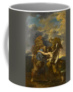 Jacob Wrestling With The Angel Coffee Mug